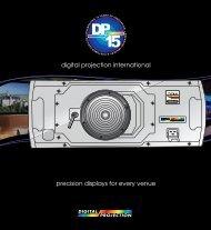 Global Company Brochure - Digital Projection