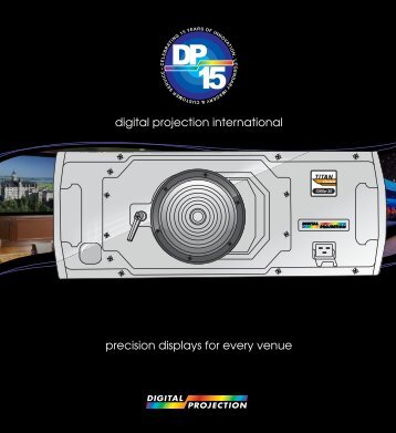 Global Company Brochure - Digital Projection