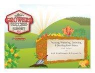 Pruning, Watering, Growing, & Starting Fruit Trees - Corona Tools