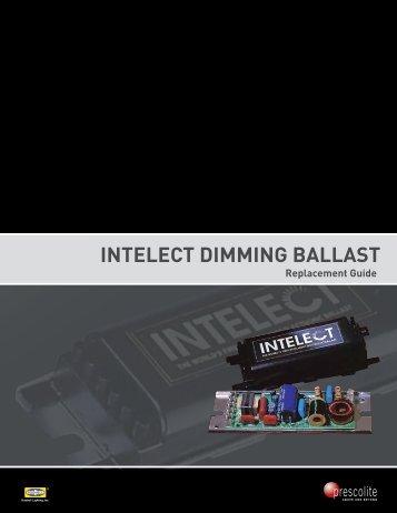 Intelect DImmInG ballast - Prescolite