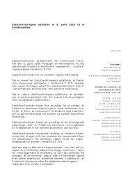 Fredericia C - Statsforvaltningen