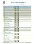 yearly lab inspection check list - Pathology and Laboratory Medicine - Page 2