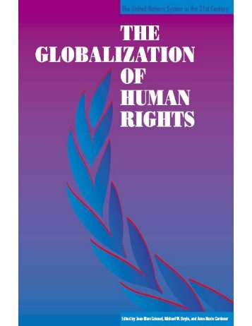 The globalization of human rights - United Nations University