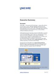 Executive Summary - Unicore
