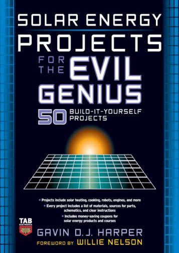 Solar Energy Projects for the Evil Genius - Survival-training.info