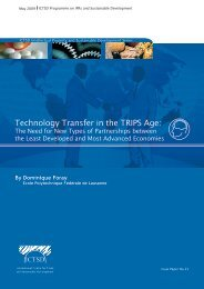 Technology Transfer in the TRIPS Age: - IPRsonline.org