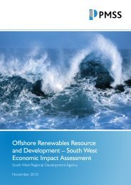 Offshore Renewables Resource and Development – South West ...