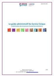 Le guide administratif du Service Civique