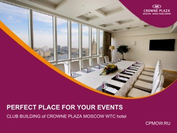 Download PDF Presentation - Crowne Plaza