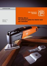 FEIN MULTIMASTER The universal system for ... - AKRO Multihire