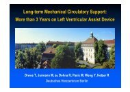 Is long-term MCS feasible with - meta-fusion GmbH