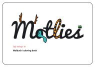 Malbuch / coloring book Teil 19/Part 19 - Motlies