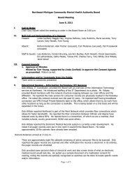 Board Meeting Minutes 06-09-11(pdf) - NEMCMH.org