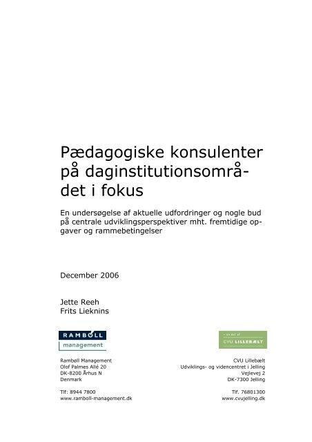 Endelig rapport Paedagogiske konsulenter.pdf - FOA