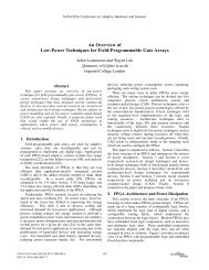 An overview of low-power techniques for field - Imperial College ...