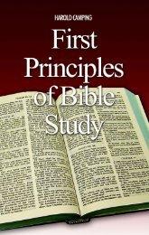 First Principles of Bible Study - Family Radio