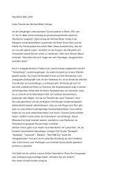Michael Müller Verlag - Newsletter März 2004