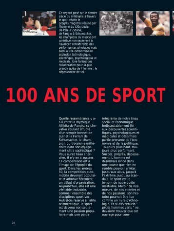 SPORT LOISIR P26-35 - Magazine Sports et Loisirs