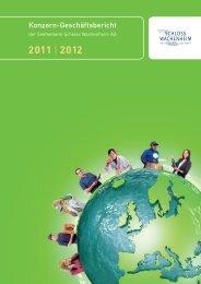Geschäftsbericht 2011/2012 - Sektkellerei Schloss Wachenheim AG