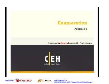 CEH V7 Module 04.pdf - Lecturer EEPIS
