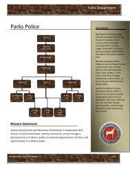 Parks Police - Jackson County