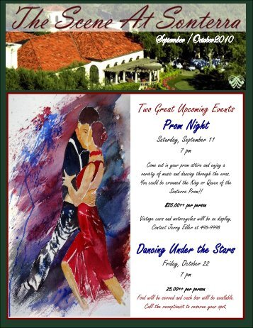 Prom Night Dancing Under the Stars