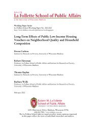 Long-Term Effects of Public Low-Income Housing Vouchers on ...