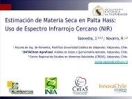 Uso de NIR (Infrarrojo Cercano) portátil en la estimación de ... - Platina