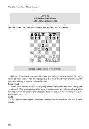 View sample pages (pdf) - Chess Direct Ltd