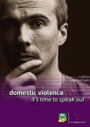 domestic violence - NRL.com