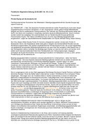 Frankfurter Allgemeine Zeitung, 02.05.2007, Nr. 101, S. 23 ...