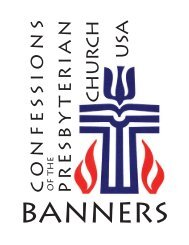 confessional banners.pdf - Westminster Presbyterian Church