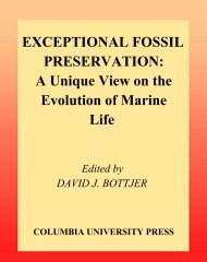 EXCEPTIONAL FOSSIL PRESERVATION: A Unique View on the ...