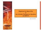 BILAN presentation RME3 Filiere sport pour Web - SDIS14