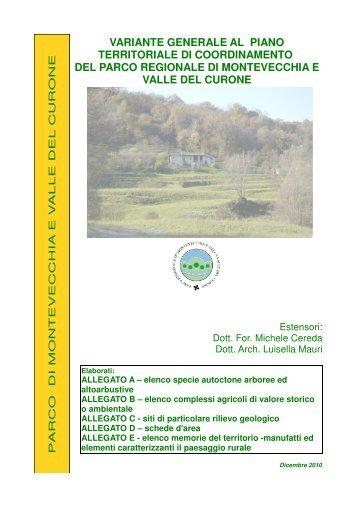 Allegati A B C D Parco Regionale - Parco di Montevecchia e della ...