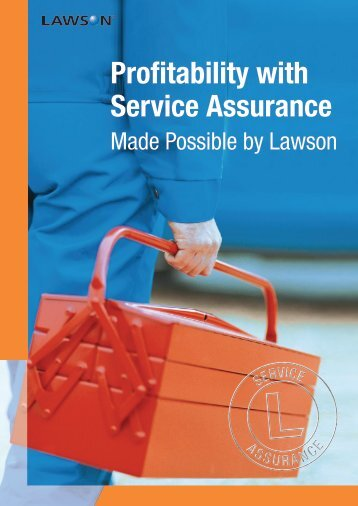 Profitability with Service Assurance