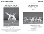 State Ballet of Georgia notes.indd - Cal Performances