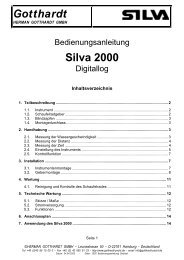 Gotthardt Silva 2000 - Herman Gotthardt GmbH