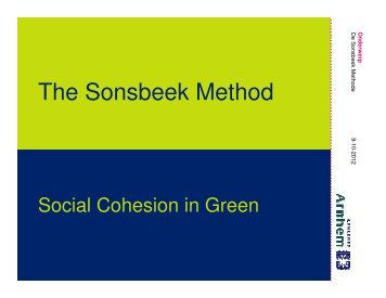 The Sonsbeek Method - MP4-Interreg