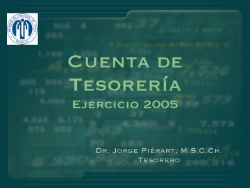 Cuenta 2005 - Sociedad de Cirujanos de Chile
