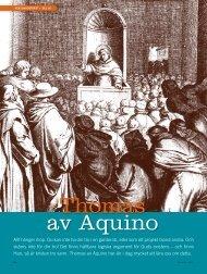 Thomas av Aquino - Till Liv