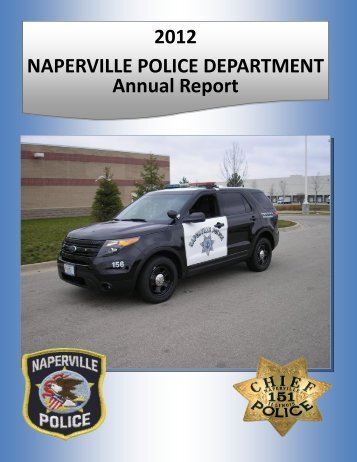 2012 NAPERVILLE POLICE DEPARTMENT ... - City of Naperville
