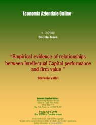 Empirical evidence of relationships between Intellectual Capital ...