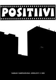 Positiivi 2 / 2008 - Suomen Kameraseurojen Liitto ry