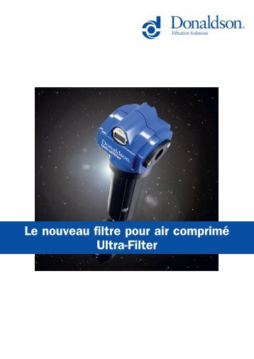 Brochure filtration industrielle