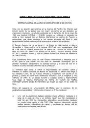 SERVICIO HIDROGRÁFICO Y OCEANOGRÁFICO DE LA ... - Shoa
