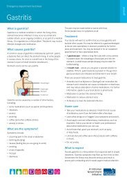 Gastritis - sygdoms