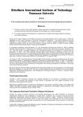 2009 Graduate Catalog and 2008 Annual R & D Report - Sirindhorn ... - Page 6