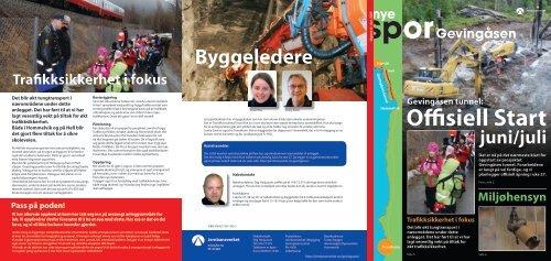 Byggeledere - Jernbaneverket