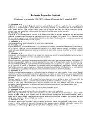 Declaraţia drepturilor copilului - Salvati Copiii